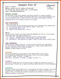 First Resume Template Australia Gallery Of My First Resume Template Resumes Moa Format Samples 30