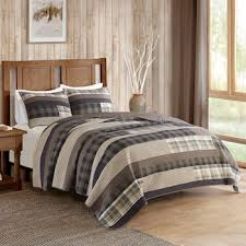 Woolrich 3-piece Winter Plains Plaid Quilt Set &  Adamdwight.com