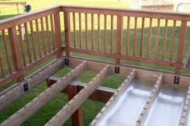 Deck Designs With Storage Underneath Panofish Building A Shed Under A Deck
