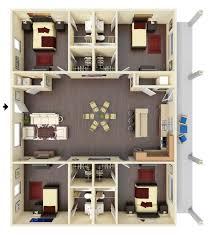 ... Minimalist Plan 6 Bedroom Floor Plans Full Size