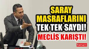 Ali Mahir Başarır saray masraflarını tek tek saydı! Meclis karıştı! -  YouTube