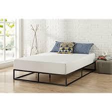 Zinus Modern Studio 10 Inch Platforma Low Profile Bed Frame / Mattress  Foundation / Boxspring Optional / Wood slat support, King