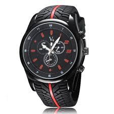 2016 stylish new sports men s watch trend double scale leisure 2016 stylish new sports men s watch trend double scale leisure tire pattern silicone male quartz watch zl003
