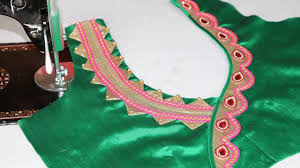 Beautiful Blouse Neck Designs Images Pin On Blouses