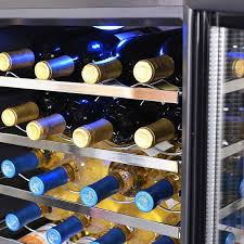 newair 28 bottle wine cooler. Interesting Newair Shop NewAir AW281E 28bottle Stainless Steel Thermoelectric Assembled Wine  Cooler  Free Shipping Today Overstockcom 7411549 In Newair 28 Bottle 2