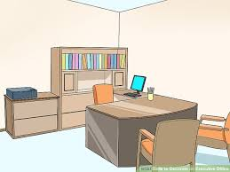 How to decorate office room Cubicle Image Titled Decorate An Executive Office Step 10 Wikihow How To Decorate An Executive Office 11 Steps with Pictures