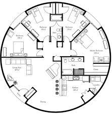 buckminster fuller dymaxion house floor plan round houses and Medium House Plans plan number dl5001 floor area 1964 square feet diameter 50 4 round house plans floor plans medium house plans with photos