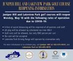 Juniper Hill Golf Course Frankfort KY