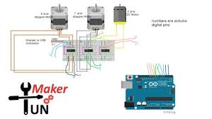 mini arduino plotter out a servo motor 6 steps pictures mini arduino plotter wiring diagram 2 png