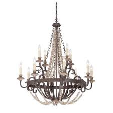 savoy house mallory bronze 12 light chandelier