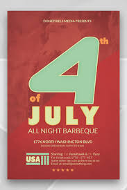 Block Party Flyers Templates 4th Of July Block Party Flyer Template Fourth Templates Free