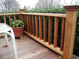 Deck railing ideas Can Look Wood Deck Railing Designs Settings Outdoor With Regard To Ideas Robert G Swan Wood Deck Railing Designs Settings Outdoor With Regard To Ideas