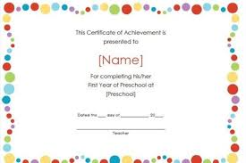 certificates of completion for kids certificates of achievement for kids military bralicious co