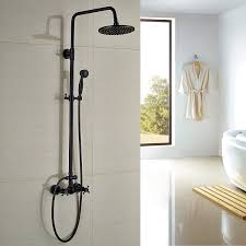 Rozin Bathroom Shower Faucet Set 8 Rain Shower Head Hand Spray Bathtub Shower Faucet Amazon