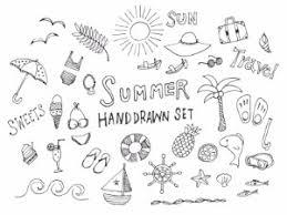 手書きの夏素材のイラスト1 Nancysdesignイラスト部