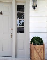 pretty white front door. Simple And Soft Gray Color Front Door \u2014 Good Feng Shui Pretty White Front Door