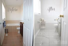 painting tile wallspainted bathroom floor  House Design