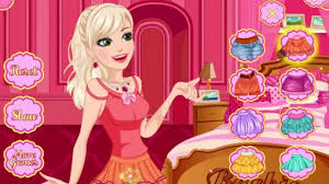 barbie makeup and dress up games you can see a kid or an woman both wanting