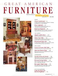 Great American Furniture Popular Woodworking Magazine