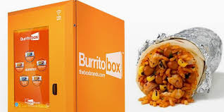 Burrito Vending Machine Cool Vending Machine Promises Hot Burritos In 48 Seconds Springwise