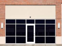tinted windows are common on office buildings and fronts but they re relatively