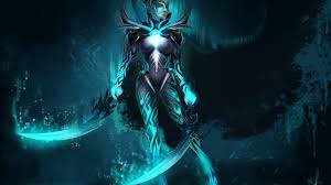dota 2 game characters phantom assassin arcana hd wallpaper
