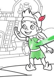 Small Picture Izzy from Jake and the Never Land Pirates Coloring Pages