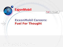 Exxonmobil Careers Fuel For Thought Ppt Download