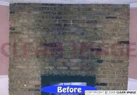 best way to clean brick fireplace how bricks around soot off dark l