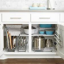 Plastic Kitchen Cabinet Delectable Cabinet Organizers Kitchen Cabinet Storage The Container Store