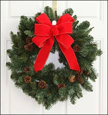 Hand-Tied Bows - Decorative Bows - Christmas Wreath Bows