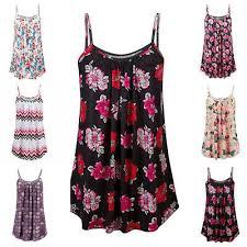 <b>Sexy Women Dress Floral</b> Print Long Top Vest Dress Summer ...