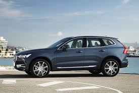 2018 volvo denim blue. simple volvo 2018 volvo xc60 side profile 01 in volvo denim blue v