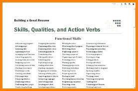 Good Resume Words Cool 2828 Good Resume Words For Skills Tablethreeten