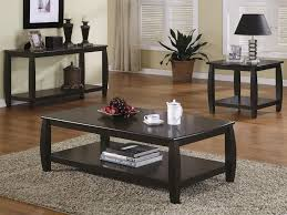 living room coffee table sets best modern furniture design black lacquered finish rectangle wooden lower shelf