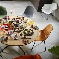 Vitra Eames Fiberglass Side Chair Dsx Chrome Plated Eames Parchment Felt Glider Basic Dark