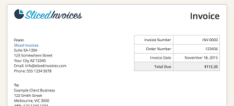An Example Of An Invoice WordPress Invoice Plugin Features Sliced Invoices 45