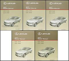 2007 lexus gs 430 350 wiring diagram manual original related items