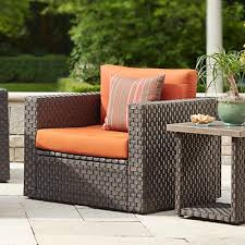 Captivating Wicker Outdoor Seat Cushions Outdoor Cushions Outdoor