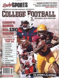 Amazon Com Lindys Sports 2019 College National Football