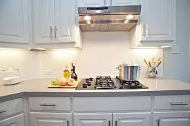 white subway tile kitchen cool white subway tile kitchen backsplash