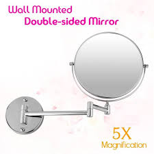 17 best images about wall mounted mirrors wall new bathroom mirror 8 inch wall mounted extending folding double side 5x magnification mirror for makeup