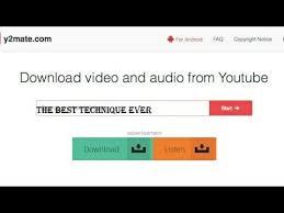 Y2mate.ch soportes para descargar vídeos en formatos mp3 y mp4 de los más de 1000 sitios web. Fuego Videotape Y Frequence De Youtube Como Descargar Musica Gratis De Youtube Y2mate