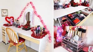 my full makeup hair collection storage room tour kayleigh noelle you