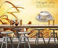 Sproud Bakery Wallpaper Bread 3d Modern Mural For Restaurant Cafe