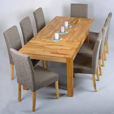 kitchen oak dining table and 8 chairs apseco inside 8 chair kitchen table 8 chair kitchen
