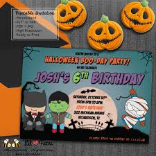 superheroes birthday party invitations pop art superhero halloween birthday party invitations