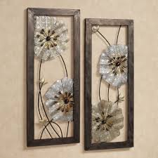 free shipping malacia floral metal wall art  on metal wall art picture frames with malacia openwork floral metal wall art set
