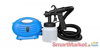 spray paint machine with no need a compressor