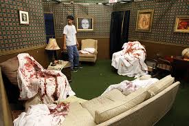 diy haunted house ideas and props | ... props in one of the rooms